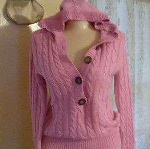 ae2453d48ee5d Women Pink Aeropostale Hooded Sweater on Poshmark